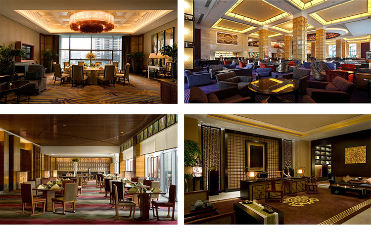 High Grade Customized Elegant Luxury 5 Star Hotel Lobby Furniture