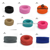 Hot Sale Colourful Fabric Power Cord