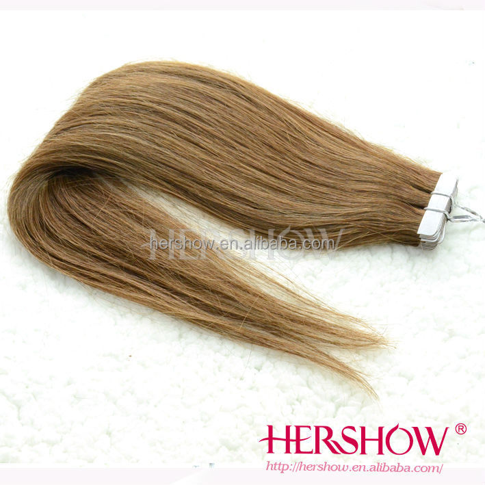 Wholesale professional factory of Brazilian human virgin tape hair extension have many color