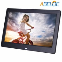 10 inch HD wifi battery operated digital photo frame motion sensor digital picture frame