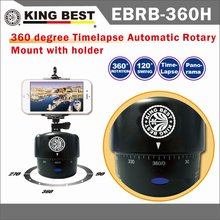 KING BEST Motorized Rotating lapse Stabilizer timelapse camera 360 Degrees 60min Motorized Rotating Sports Action Video Camera