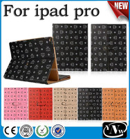 Briefcase/ handbag business leather case cover for ipad pro