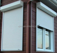 Roller shutter double layer window shutter for sale