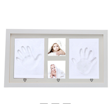 2018 Unique Baby Gifts Wood Baby Photo Frame Handprint baby frame