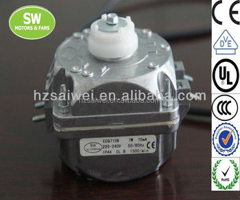 GECQ7108 Shaded Pole dc Motor