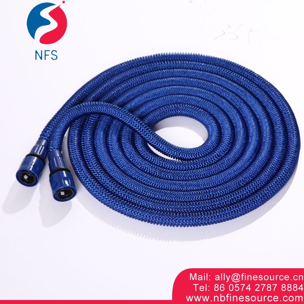 High Pressure Retractable Garden Water Silicone Rubber Braided Flexible Metal Hose