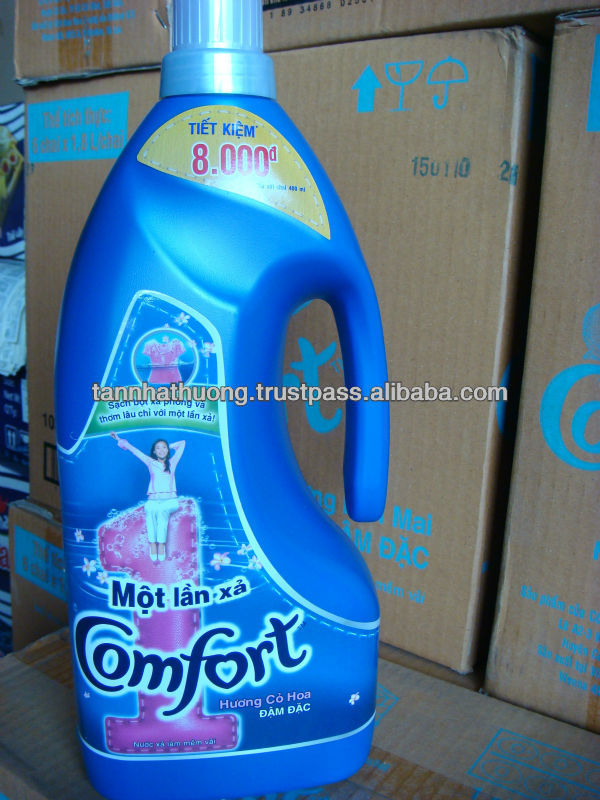 Comfort One Time Rinse Fabric Conditiner 1800ml x 6