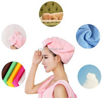 advertising logo 410 GSM microfiber hair towel with soft traits wholesalers in china