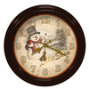 Christmas Wall Clock Musical Wall Clock Special Dial Design