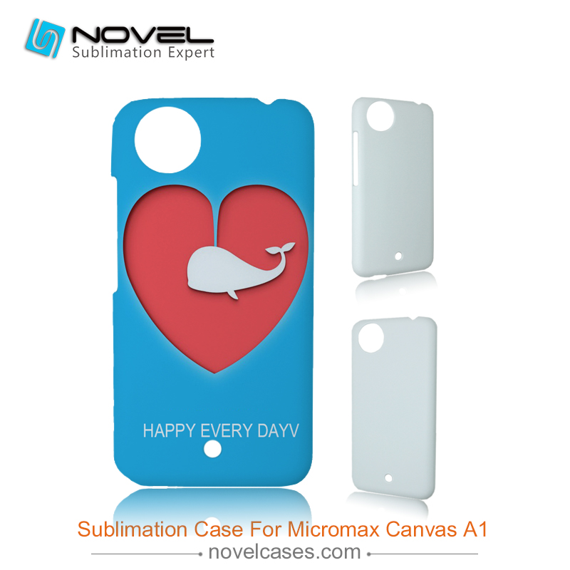 New style sublimation blank phone shell for Micromax Canvas <strong>A1</strong>