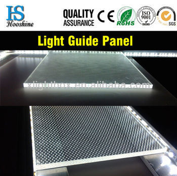 acrylic led light guide panel , LGP