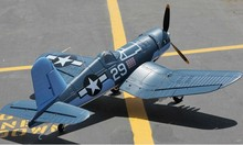 Most scale RTF F4U Corsair rc fighter aircraft