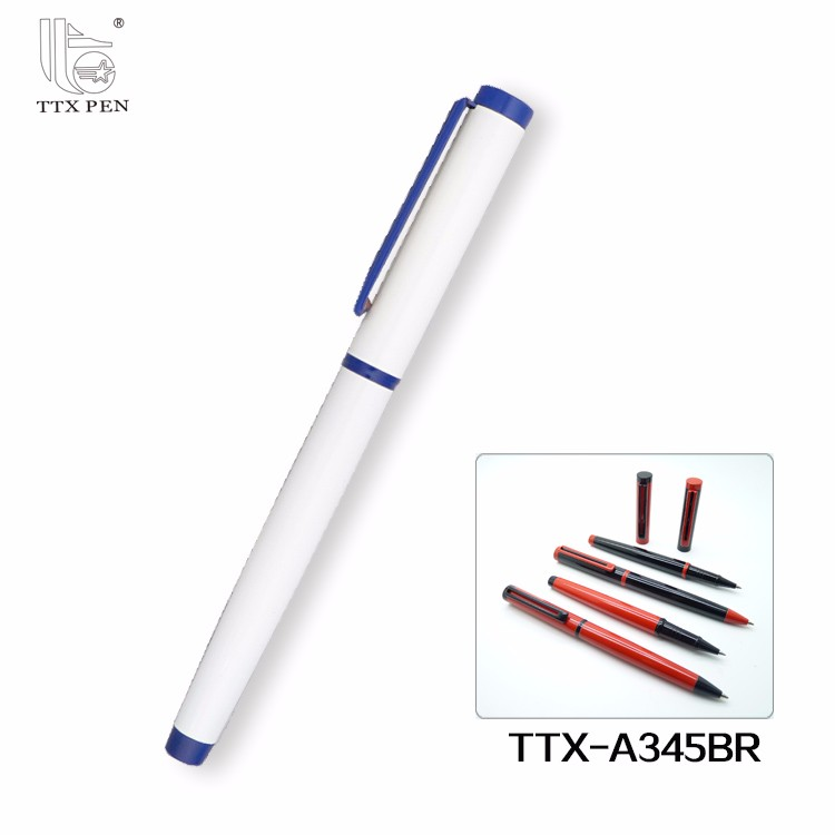 Manufacturer High Quality Personalized black Metal Roller Pen Ballpoint Pen