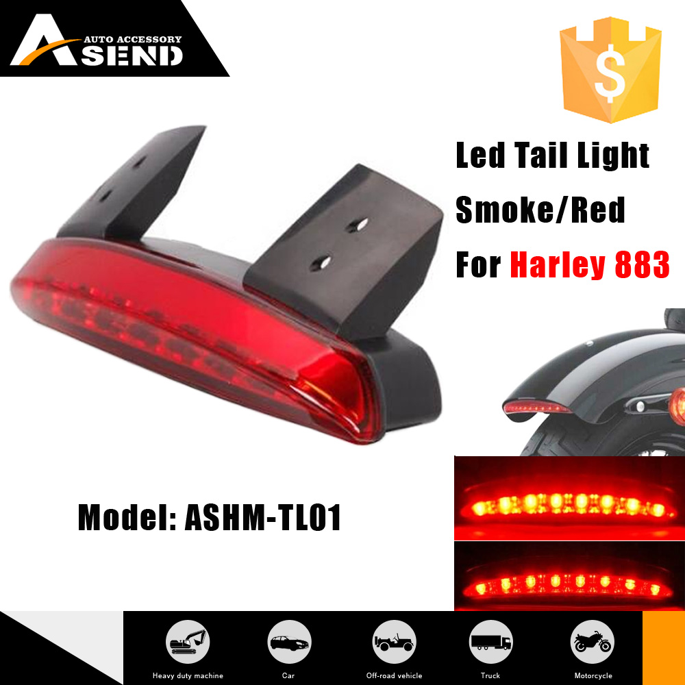 Motorcycle LED Tail Light brake light fit for Harley with turn signal