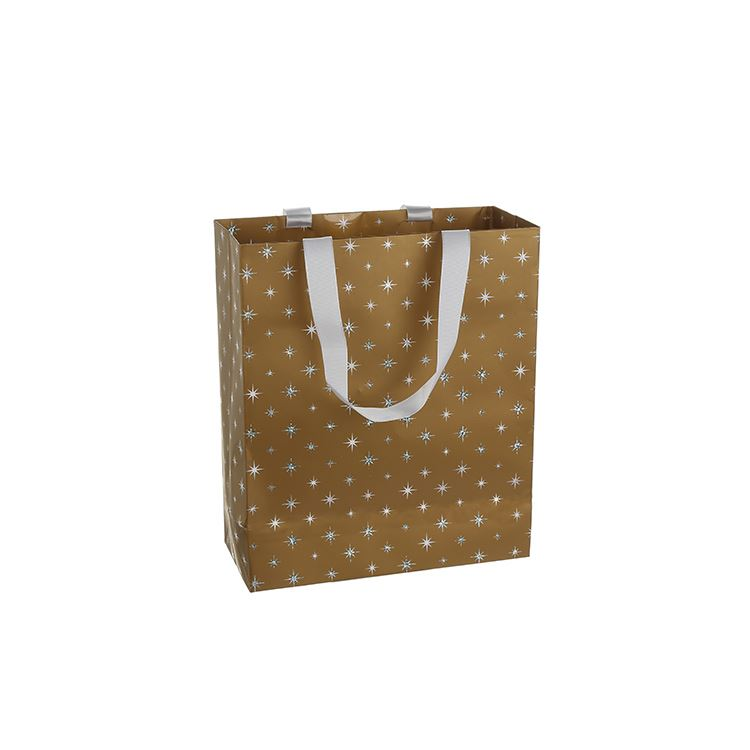 China manufacturer trendy style birthday paper gift bag box