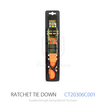 25mm 500kg Ratchet Tie Down straps And Cargo Lashing Belt And Ratchet Strap with S Hook For Tightening