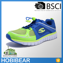 HOBIBEAR breathable lightweight OEM men mesh action sports running shoes made in China