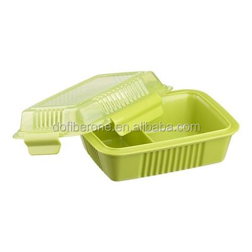 biodegradable corn starch disposable food container, lunch box