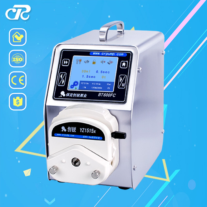 Industrial And Stepper Motor And Touch Screen Dosing Peristaltic Pump For Contract Construction