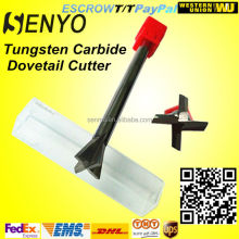 Solid carbide dovetail t-slot end mill v-groove cutter cutting tools
