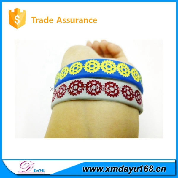 no minimum cheap shipping custom silicone wristband, silicone rubber wristband