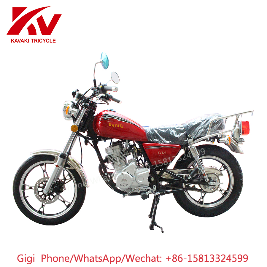Guangzhou factory whoelsale KAVAKI MOTOR GN125 classic 125cc engine cheap Chinese motorcycle brands