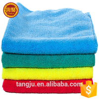 High quality cleaning towels 40*40 cm 300 gsm microfiber car wipes wholesale