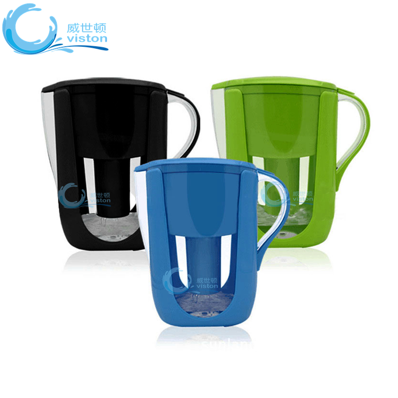 3.5L BPA Free Alkaline Water Filter Pitcher Plastic, Water Filter Jug Amazon, Mineral Water Purifier Pot