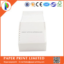 Self-adhesive label for dot matrix impact printer