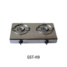 2016 newest design Auto ignition two burner gas stove