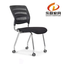 furniture modern clear design office desk plastic chairs without arms H-528E