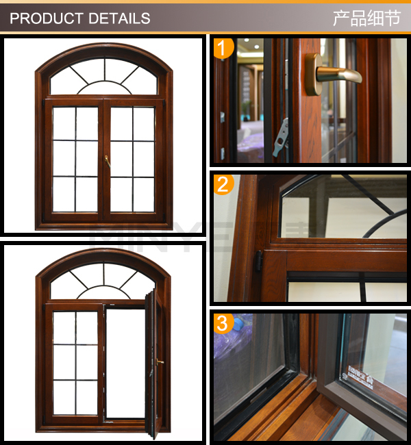 France style aluminum simple iron window grills design for Window design catalogue