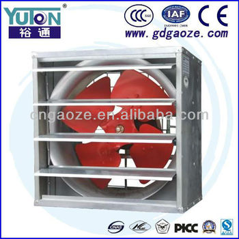 SF-G Series Rectangular Draught Fan With Shutter