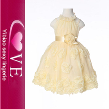 Wholesale Flower <strong>Girl's</strong> Halter Fluffy Baby Girl Tutu <strong>Dress</strong>