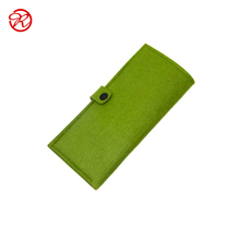 High Quality Eco-friendly Customized Practical Felt Wallet From China