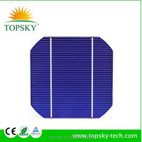solar cells high efficiency,125x125 solar cells, A grade monocrystalline 5*5 solar cell for DIY solar panel kit