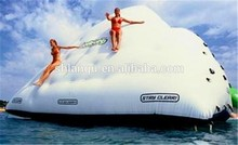 Exciting inflatable water iceberg/ rock climbing wall/inflatable iceberg