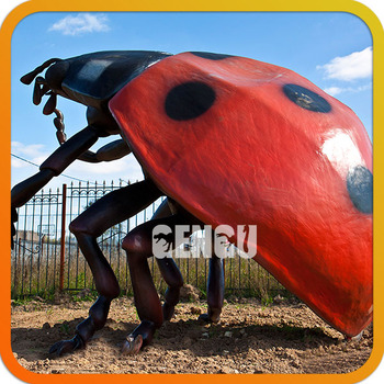 Theme Park High Simulation Insect Sculpture Playground Insects