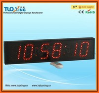 4 inch 6 digits LED digital outdoor waterproof clock