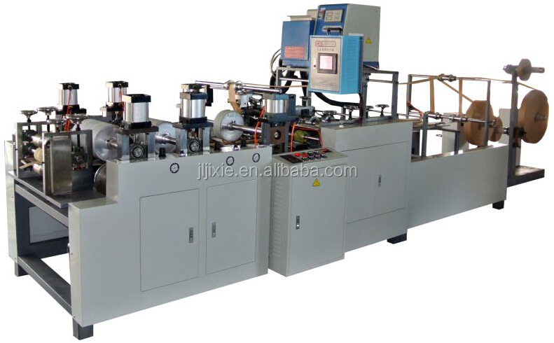 KE-18F Automatic Flat Paper Handle Making Machine