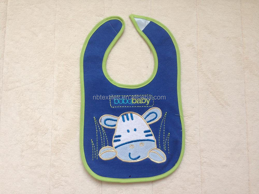 Cute baby bib waterproof fabric for bib
