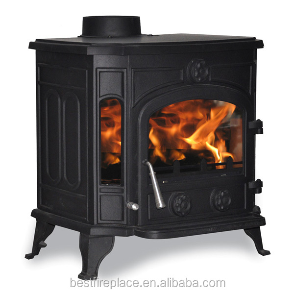 Unique Wood Burning Stove With Central Heating System