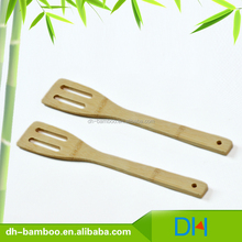 Eco-friendly wood pizza Turner Bamboo Spatula for Cooking Food Stir Kitchen Utensil