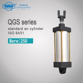 QGS bore-250 series pneumatic standard air cylinder