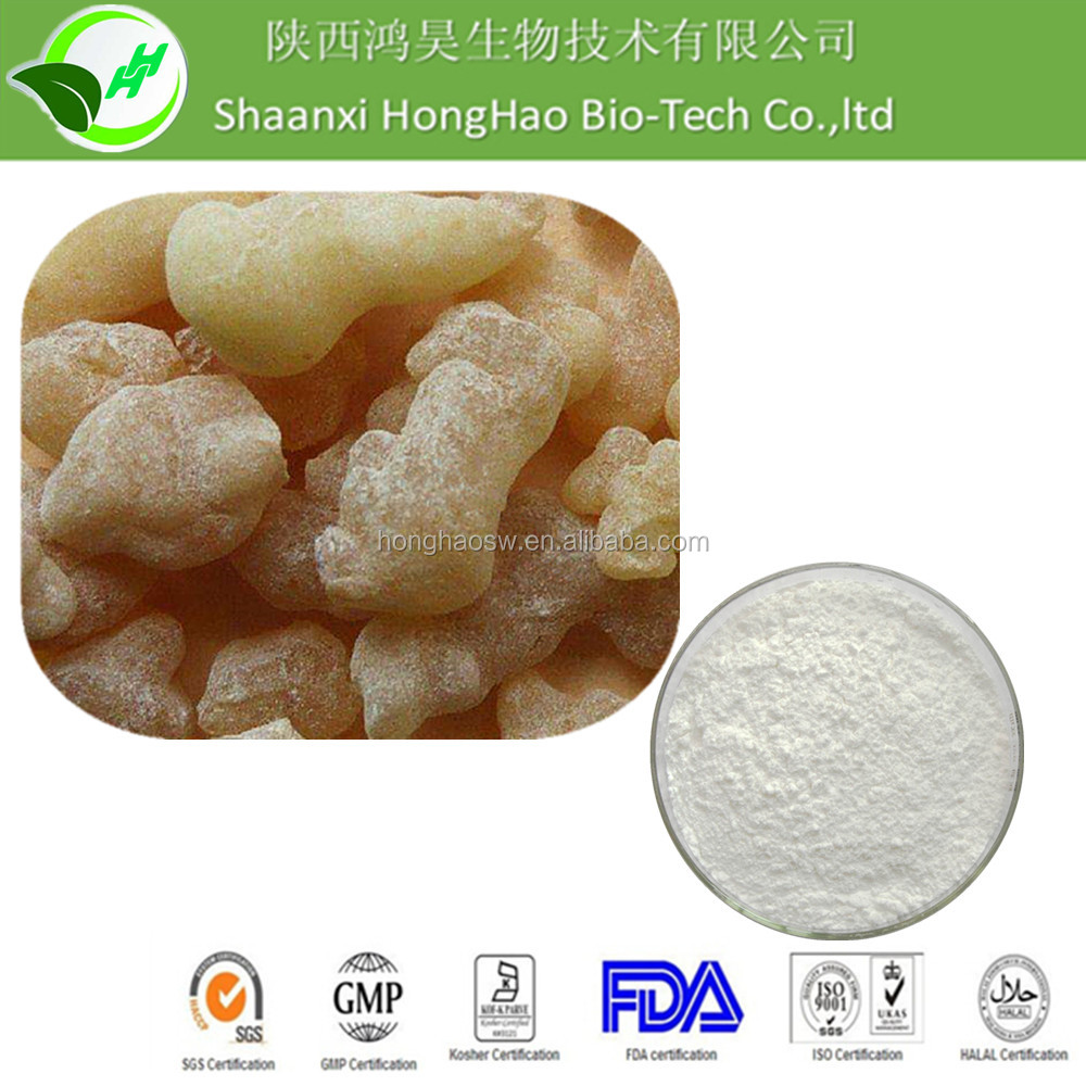 100% Natural Boswellia Serrata extract / Boswellic Acid 65%/ Frankincense Resin extract for sale