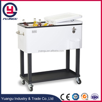 Large Capacity Insulated Metal Trolley Cooler