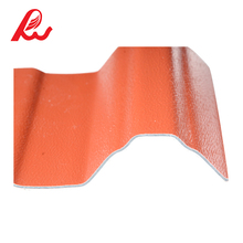 Spanish style high quality apvc resin anti-corrosive composion roof tile / sheet