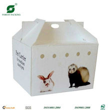 WHITE CAT PET CARRIER PAPER BOX FP71526