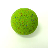2015 Promotional fluoro Color Rubber high Bouncing Ball