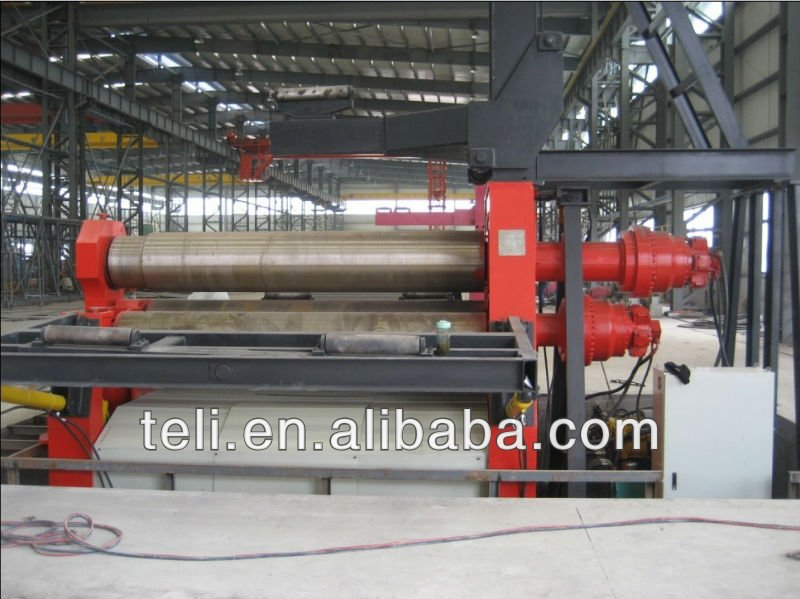 4 roller plate rolling machine,